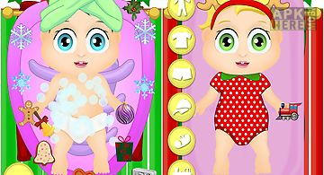 Baby nurse christmas kids care