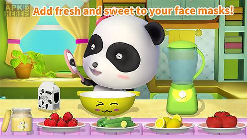 cleaning fun - baby panda