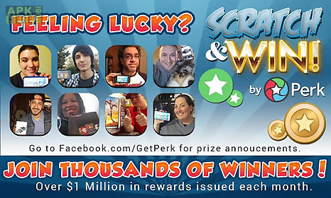 Perk scratch & win! for Android free download at Apk Here store