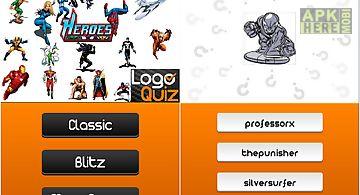 Amazing superheroes logo quiz