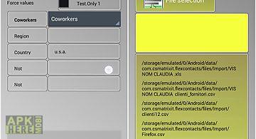 Import contactscsv txt xls
