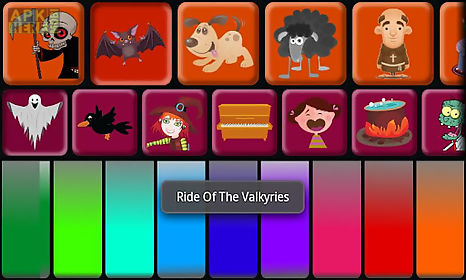 kids halloween piano free