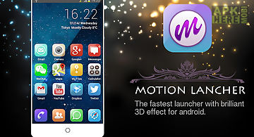 Motion launcher fast&efficient