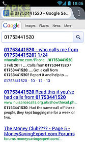 unknown caller lookup