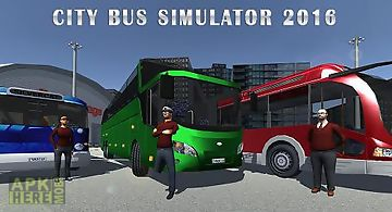 City bus simulator 2016