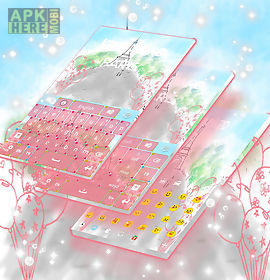 paris keyboard theme
