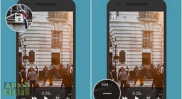 Slow motion video zoom player