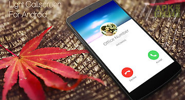 Light i call screen
