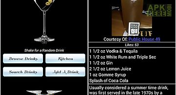 Mr. bartender drink recipes