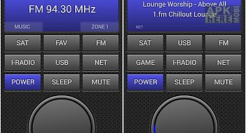 Remote control for denon