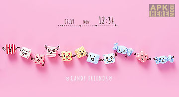 Candy friends +home theme