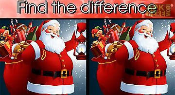 Find the difference christmas: s..