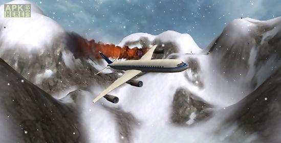 flight simulator snow plane 3d