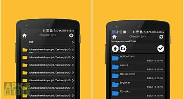 Folder sync : file syncing