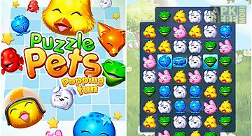 Puzzle pets: popping fun!