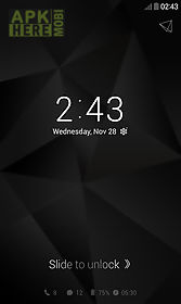 simple black dodol locker