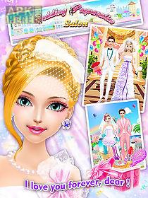 wedding preparation salon