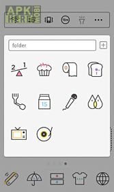 simple drawing dodol theme