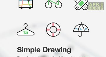 Simple drawing dodol theme