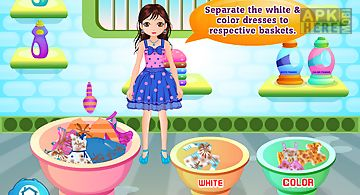 Laundry washing girls games
