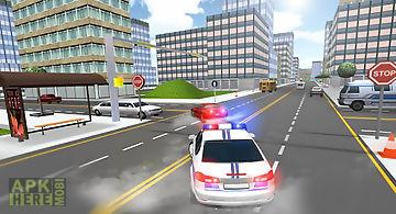 Police driver death race