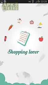 shopping lover - shopping list