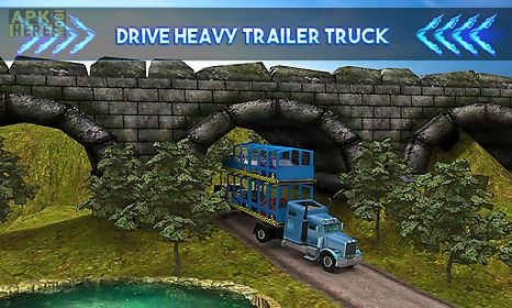 car transporter trailer truck