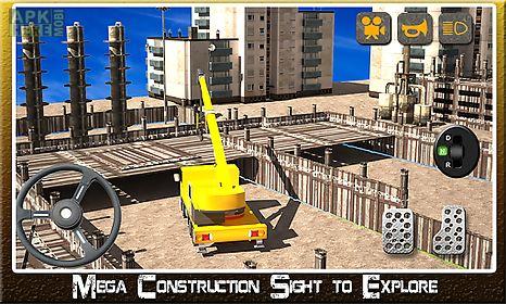 construction tractor simulator