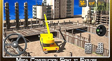 Construction tractor simulator