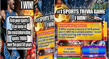 Sports trivia iq game i win free
