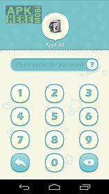 applock theme blue