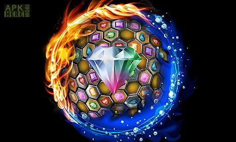 jewels blitz gold hexagon