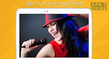 Karaoke sing