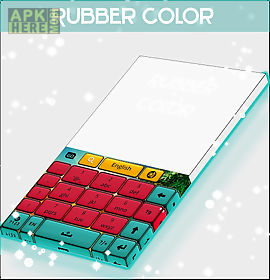rubber color keyboard