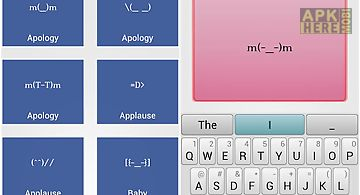 Emoticon & ascii art for Android free download at Apk Here