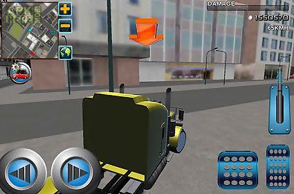 crazy driver 3d: vip city taxi
