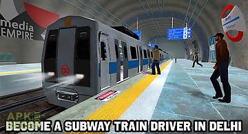 Delhi subway train simulator
