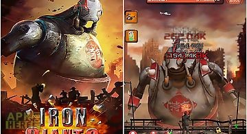 Iron giants: tap robot games