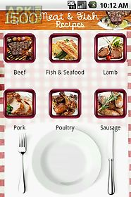 1500 meat and fish recipes