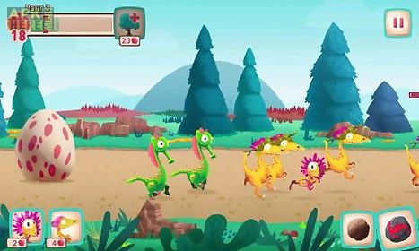 Dino bash for Android free download at Apk Here store - Apktidy com