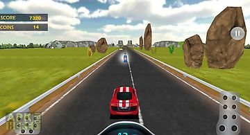 Speed car racing - real thrill