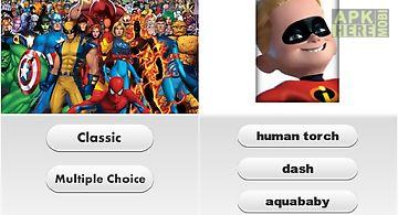 Superheroes logo quiz 2