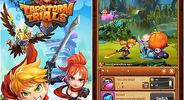 Tapstorm trials: idle rpg