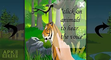 Animal world game for kids