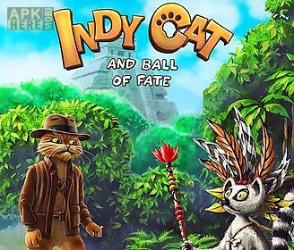 indy cat and ball of fate: match 3