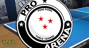 Pro arena: table tennis. ping po..