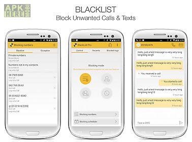 chặn cuộc gọi (blacklist)