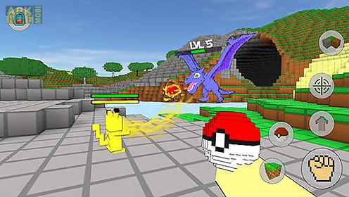 cube craft go: pixelmon battle