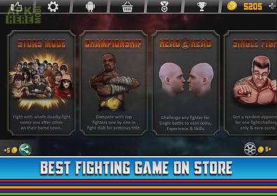 top fighting game for android