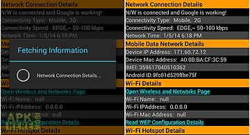Know your android network